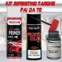 Kit bomboletta spray ALFA ROMEO codice colore 595A GRIGIO MEDIO IMPECCABILE Metallizzato o perlato 2008 2008