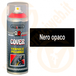Vernice pelabile removibile spray nero opaco