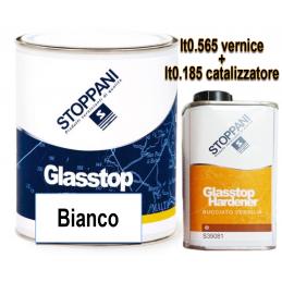Glasstop bianco lt 0.565 + catalizzatore