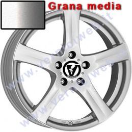 cerchione silver grana media