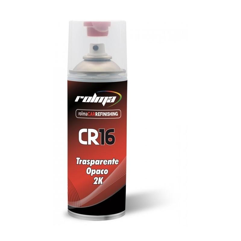 Trasparente opaco spray 2k