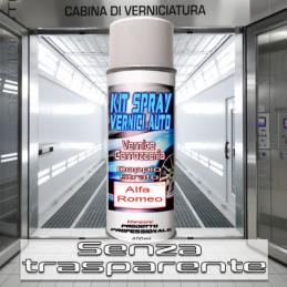 Bomboletta spray senza trasparente 251 VERDE MIRTO Metallizzato o perlato 1986 1995 Alfa romeo