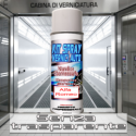BOMBOLA H20 PER VERNICI A BASE ACQUAJumbo Spray 500 ml – colore Blu