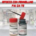 kit bomboletta spray Fiat 500  498 BLU ORIENTE Pastello 1969 1972