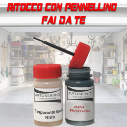 kit bomboletta spray Fiat 500  601 NERO (2C) Pastello 1970 2010