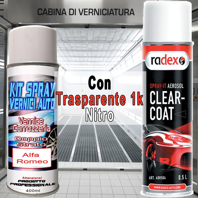 kit bomboletta spray Fiat 500  221B NERO LUX Metallizzato e/o perlato 2011 2011