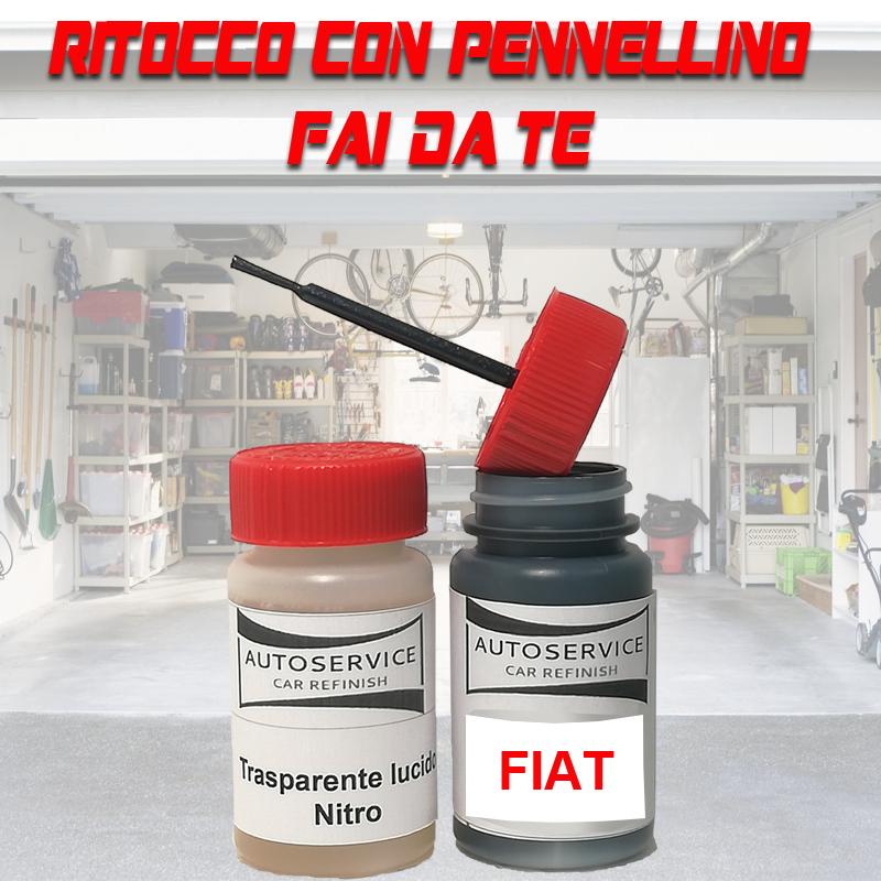 Kit bomboletta spray ALFA ROMEO codice colore 296A BIANCO GHIACCIO/PASTELLO Pastello 2008 2010