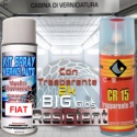 Kit bomboletta spray ALFA ROMEO codice colore 650A GRIGIO AFRICA Metallizzato o perlato 1997 2008