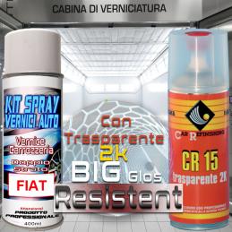 Bomboletta spray con trasparente 2k 876B NERO CARBONIO