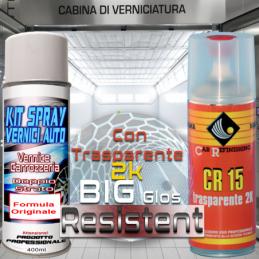 Citroen peugeot eyp gris fulminator Bomboletta spray con trasparente 2k