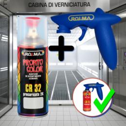 Bomboletta spray universale con catalizzatore 2k e impugnatura
