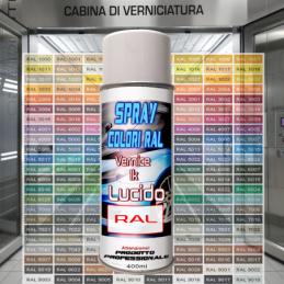 Bomboletta spray 1k lucido RAL 1001