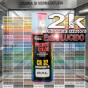 189 CIRRUSBLAU Metallizzato o perlato 1986 1990 Kit bombolette spray BMW