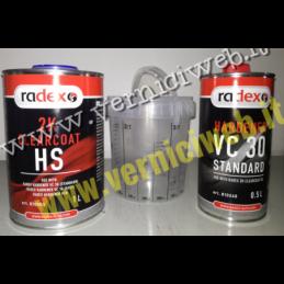 Trasparente 2k Radex carrozzeria