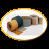 Carta abrasiva e vetrata a secco varie grane da p40 a p500