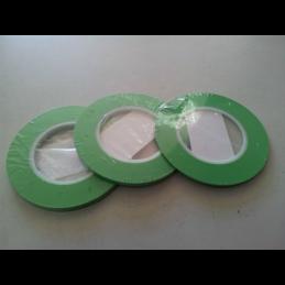 Nastro adesivo verde per aerografie 3mm