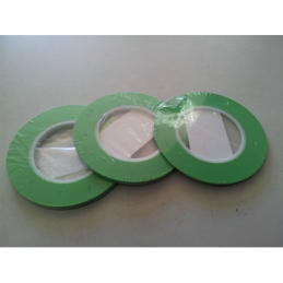 Nastro adesivo verde per aerografie 6mm