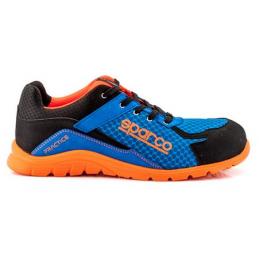 Scarpa ndis practice s1p tg.41 azzurro-arancio anti infortunistica