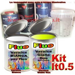 Kit lt0.5 giallo fluorescente