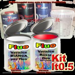Kit lt0.5 rosso fluorescente