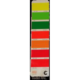 Mazzetta colori fluorescenti Ral