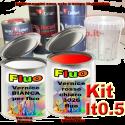 Kit bomboletta spray ALFA ROMEO codice colore 134B ROSSO COMPETIZIONE Metallizzato o perlato 2008 2011