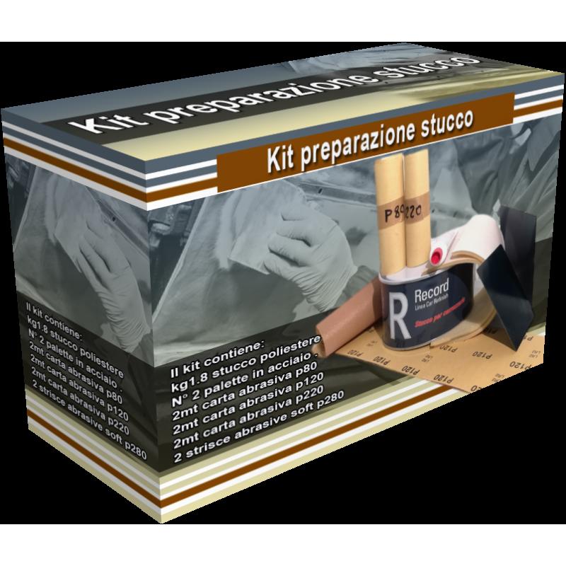 Scatola Kit preparazione stucco img a scopo illustrativo