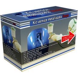 794 champagne Kit vernice metallizzata