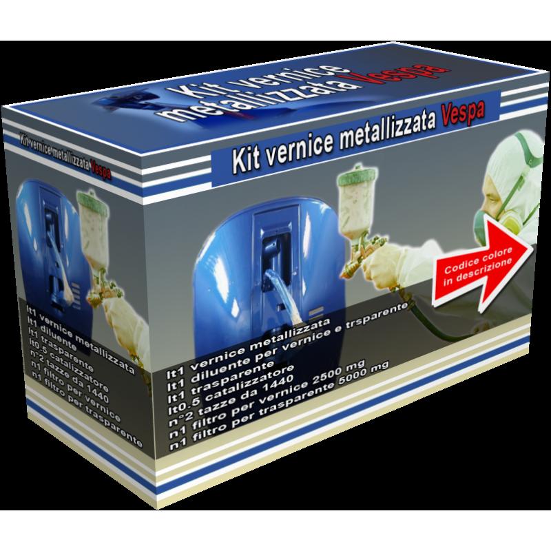 418 grigio azzurro Kit vernice metallizzata