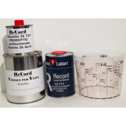 vernice catalizzatore diluente e tazza Prodotti de kit colore vespa 907