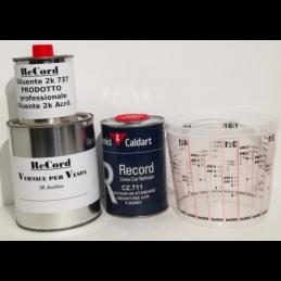 vernice catalizzatore diluente e tazza Prodotti de kit colore vespa 909
