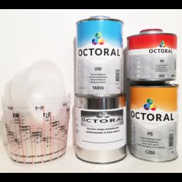 Prodotti kit vernice metallizzata vespa 2/7 grigio futuro