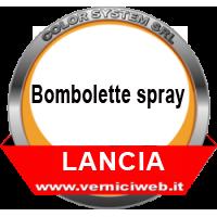 Bombolette spray Lancia
