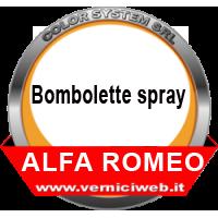 Bombolette spray Alfa romeo