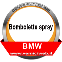 Vernici spray BMW