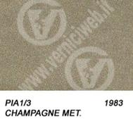 1/3 champagne metallizzato