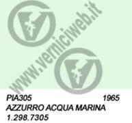 305 - 1.298.7305 AZZURRO ACQUA MARINA