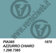 385 AZZURRO CHIARO Anno 1970