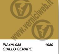senape p4/8 giallo senape vespa