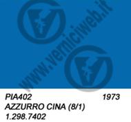 azzurro cina vespa codice colore 402