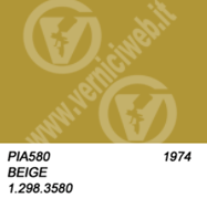 580 beige vespa anno 1974