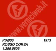 806 rosso corsa vespa