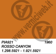 921 rosso canyon vespa