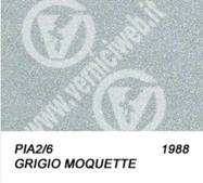 2/6 grigio moquette metallizzato