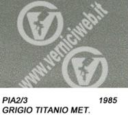 2/3 grigio titanio metallizzato
