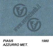 5/5 azzurro metallizzato