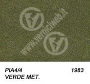 4/4 verde metallizzato